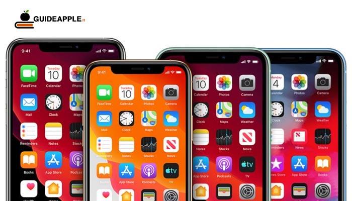 4 iPhone con schermi OLED e 5G nel 2020