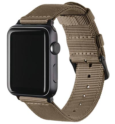 Archer cinturino Apple Watch in nylon