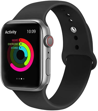 VIKATech Cinturino Apple Watch in silicone