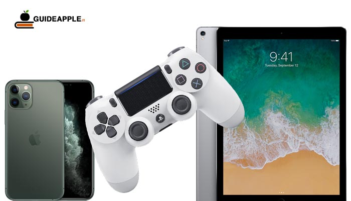 Come collegare controller PS4 a iPhone e iPad