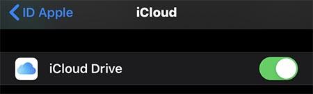 icloud drive whatsapp