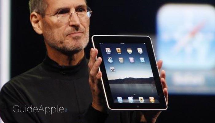 Oggi ricorre il decimo anniversario della presentazione dell'iPad