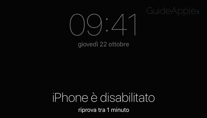 Codice sblocco iPhone dimenticato: ecco come risolvere
