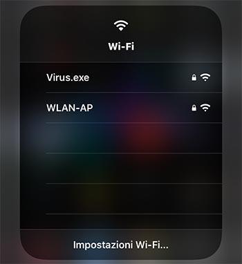Come cambiare rete WiFi velocemente