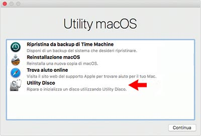 Formattare Mac