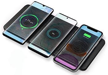 JE Caricatore Wireless triplo