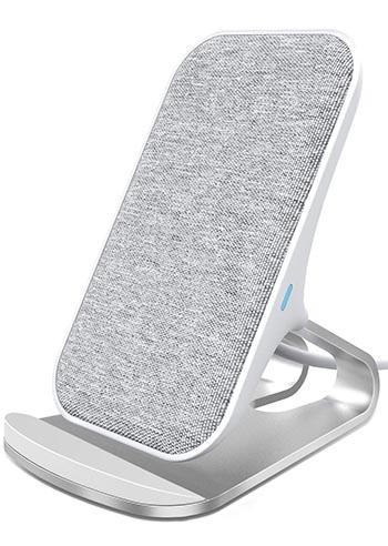 Lecone caricatore wireless in tessuto