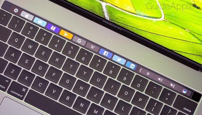 Come mostrare tasti funzione nella Touch Bar