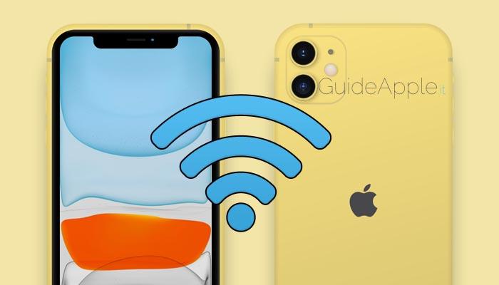 Come cambiare rete WiFi velocemente su iPhone e iPad