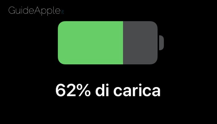 Come visualizzare percentuale batteria iPhone 11, 11 Pro e 11 Pro MAX