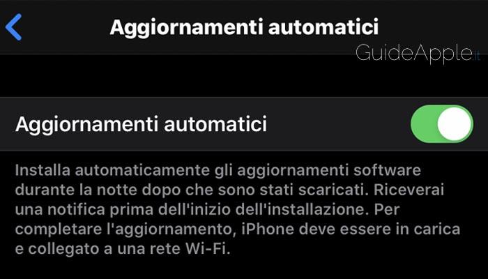 Aggiornamenti automatici iPhone non funzionano: possibili soluzioni