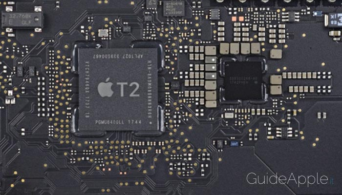 Chip di sicurezza Apple T2: che cos'è e a cosa serve