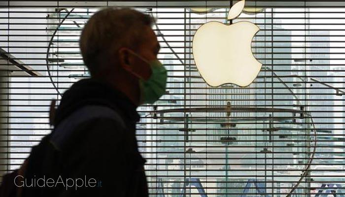 Coronavirus: Apple aiuta l'Italia
