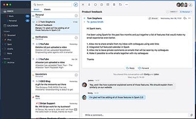 app per posta elettronica mac