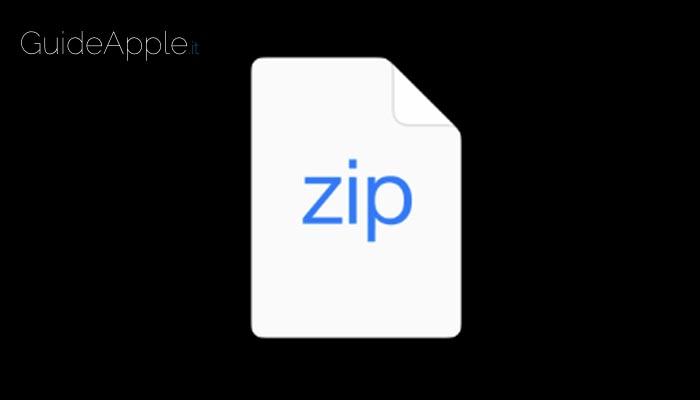 Come aprire file zip con iPhone