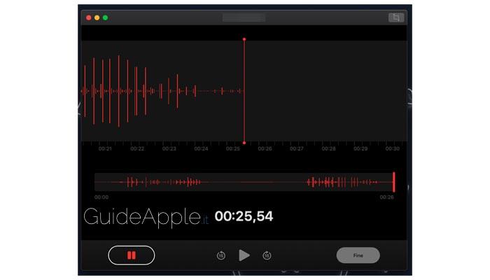 Memo vocali Mac: ecco come registrarli