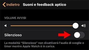 problemi notifiche apple watch