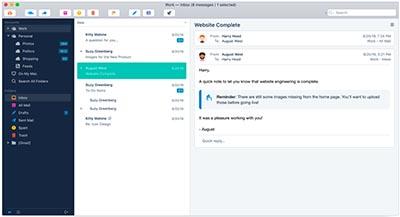 programmi gestione email mac