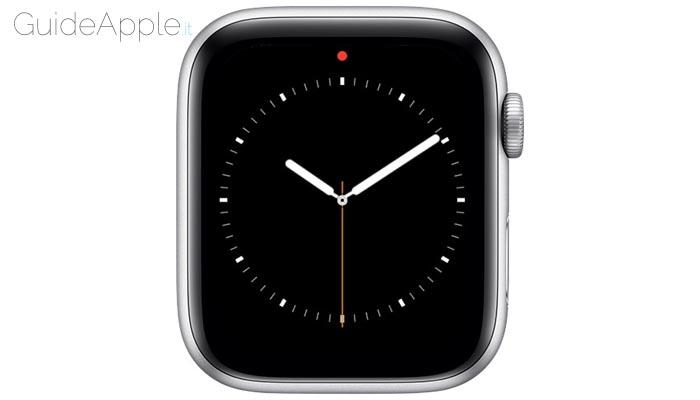 Apple Watch puntino rosso: che cos'è e come eliminarlo