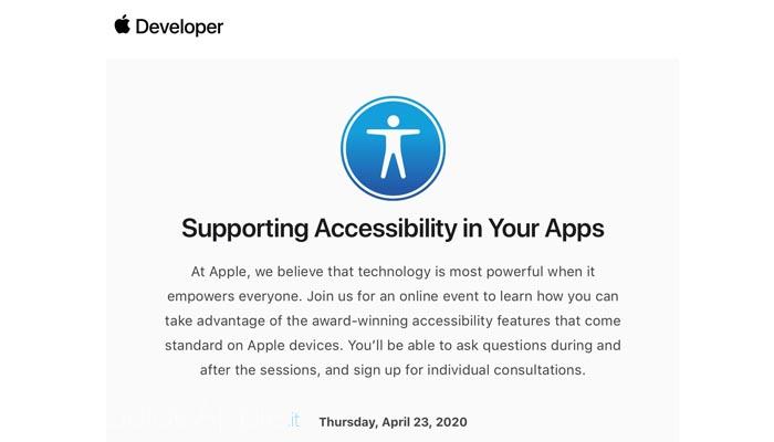 Apple invita alcuni sviluppatori a partecipare ad un webinar prima dell WWDC 2020
