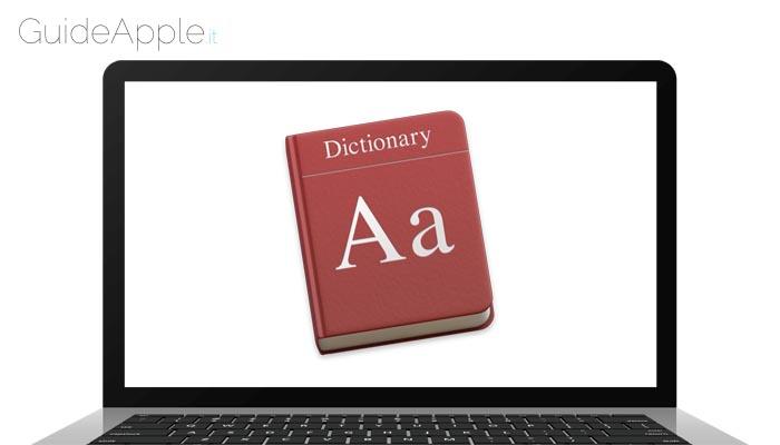 Come aggiungere e rimuovere parole dal dizionario di macOS