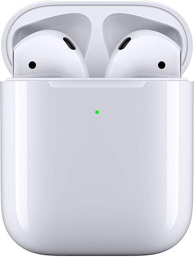 airpods con custodia di ricarica wireless