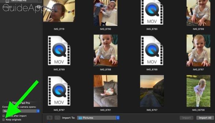 Un bug di macOS fa sprecare GB di dati durante il trasferimento da iPhone o iPad