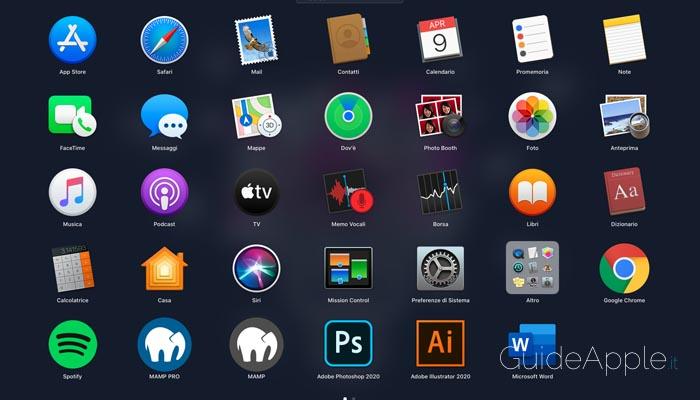 Come disabilitare il Launchpad su macOS