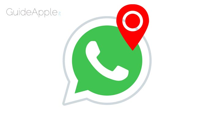 Come inviare la posizione su WhatsApp da iPhone