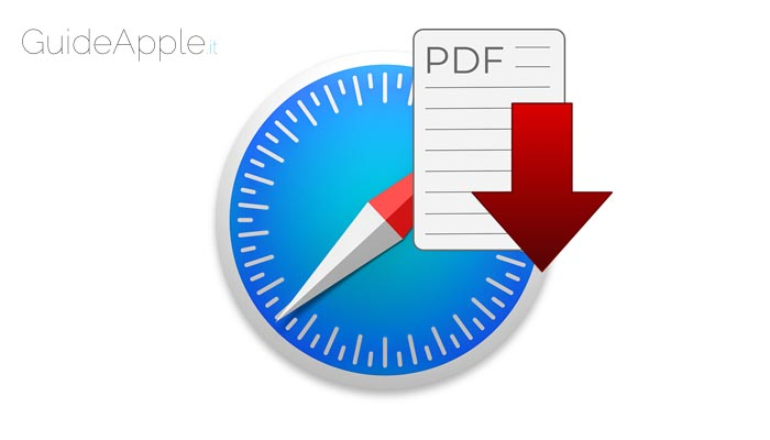 Come scaricare file PDF da Safari su Mac