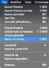 scaricare pdf su mac da safari