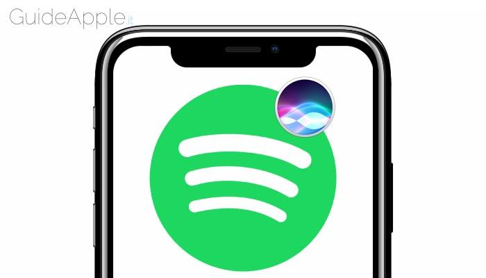 Come usare Spotify con Siri