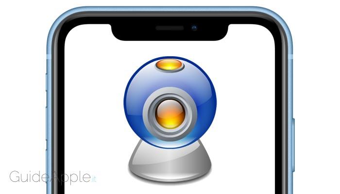 Come usare iPhone come webcam