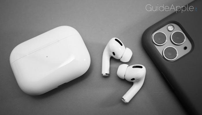 Apple aggiorna il firmware delle AirPods Pro alla versione 2D15