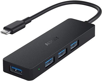 Aukey hub USB-C