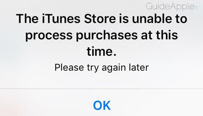 Impossibile acquistare app su iPhone o iPad: ecco come risolvere