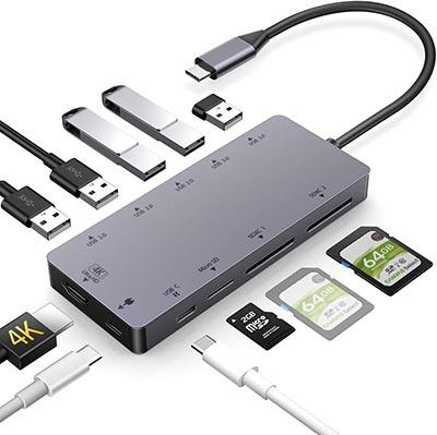 Rozeda hub USB-C 11-in-1