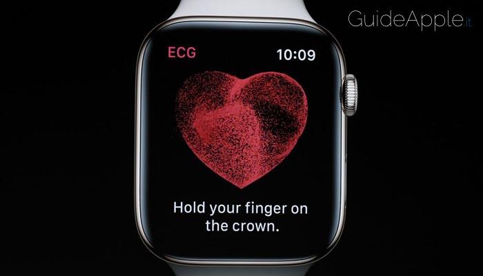 Un'altra vita salvata grazie alla funzione ECG dell'Apple Watch