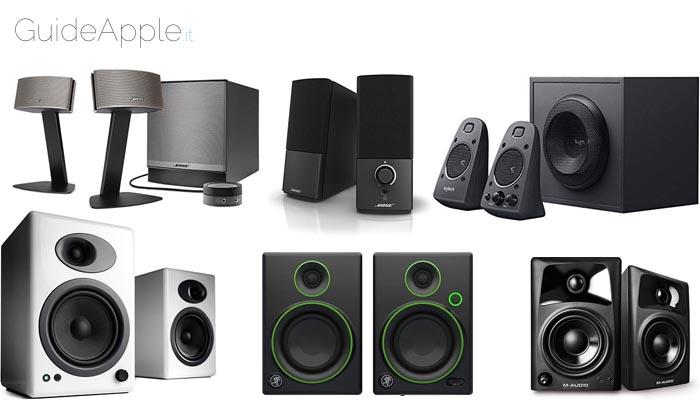 I migliori altoparlanti per iMac e Mac mini