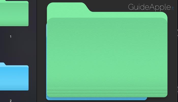 Come cambiare colore cartelle Mac