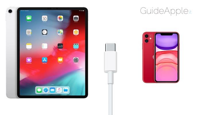 L'iPad Pro può ricaricare un iPhone?
