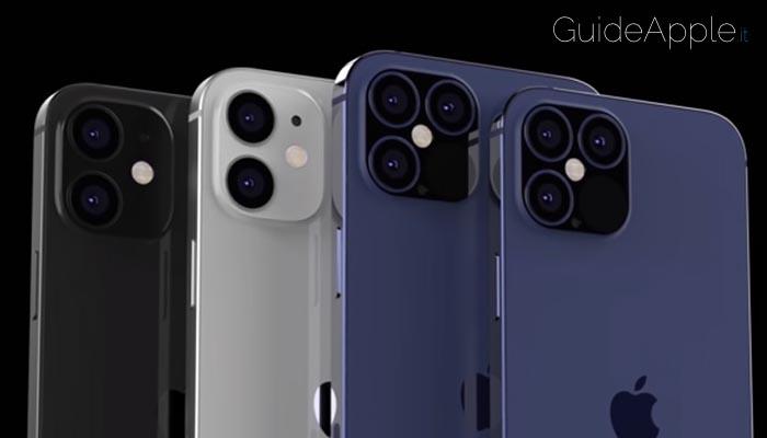 iPhone 12, svelati: nomi, caratteristiche tecniche e prezzi