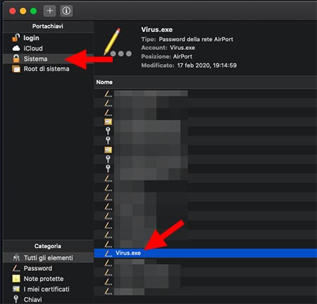 password wifi mac