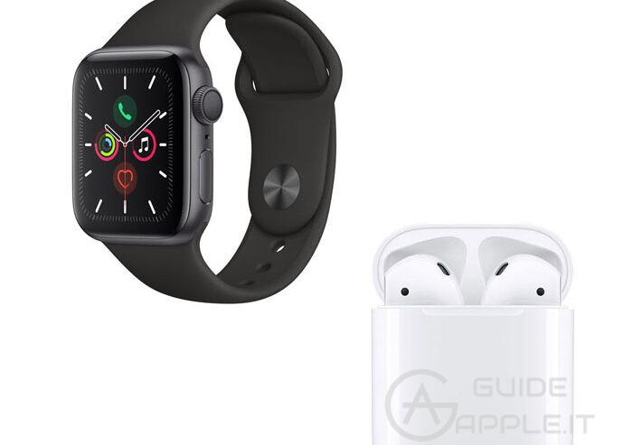 Come connettere gli AirPods all'Apple Watch