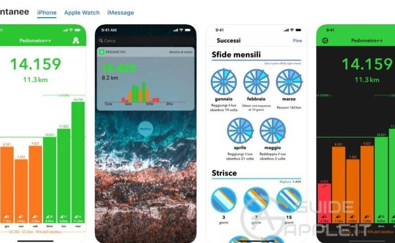 Come usare e vedere velocemente contapassi su iPhone e Apple Watch