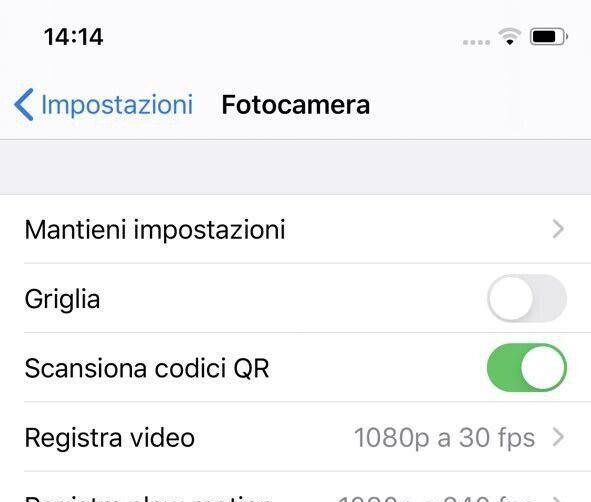 Come Aprire Codice QR con iPhone