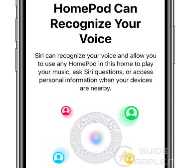Come configurare HomePod (SIRI) per riconoscere più utenti (della famiglia)