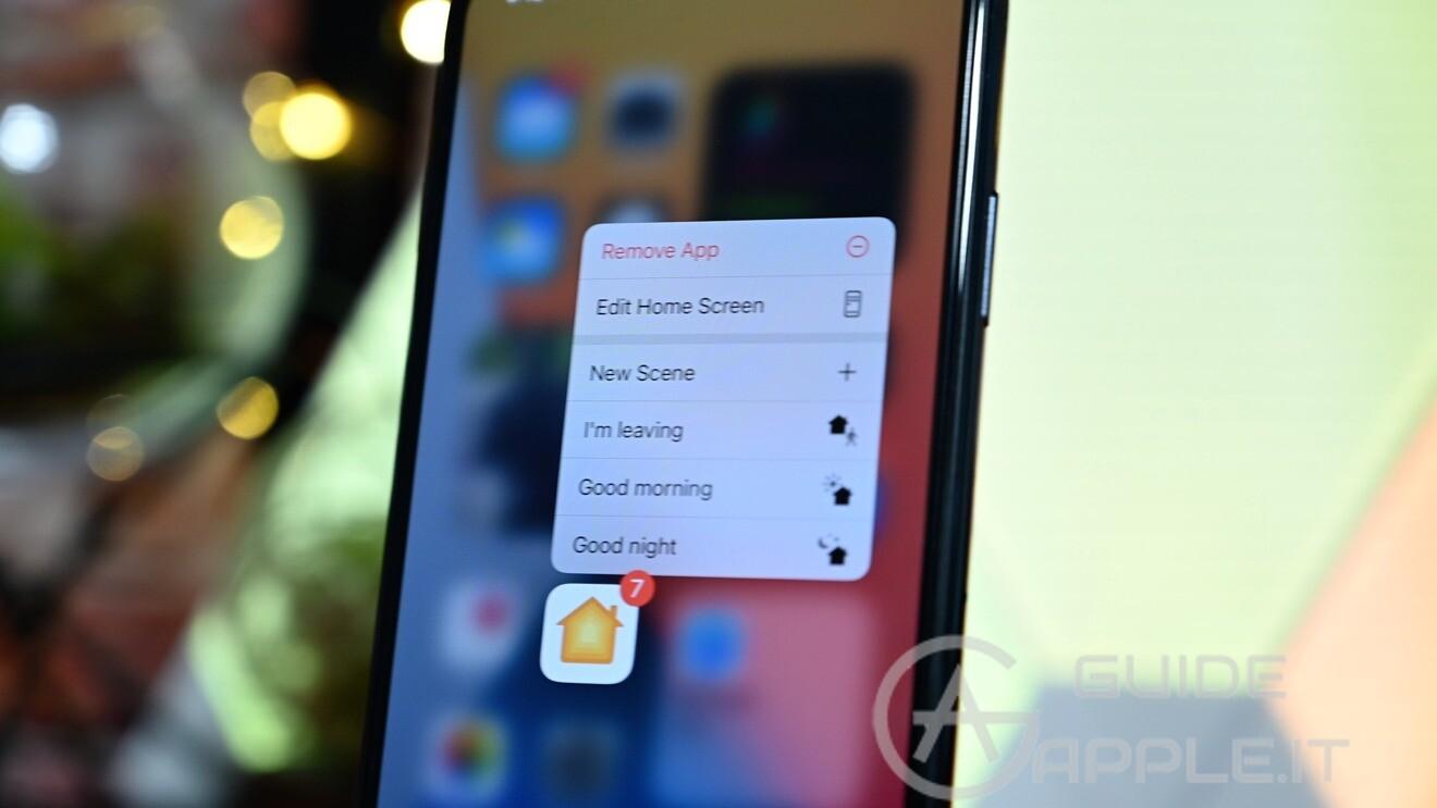 Come rimuovere apps e icone dalla home iPhone iOS 14