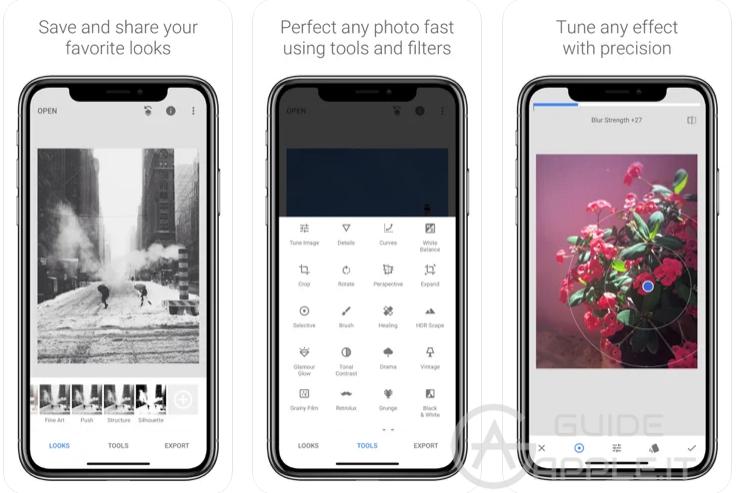 Migliori app fotoritocco per iPhone