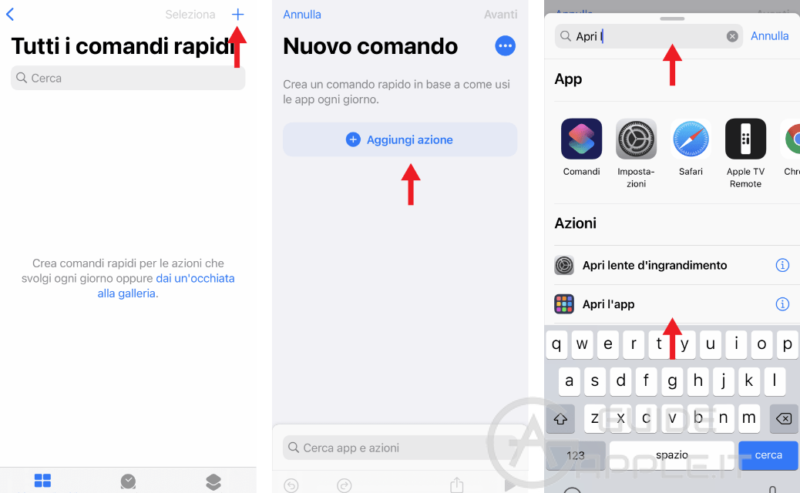 Creare icone personalizzate su iPhone [iOS 14]